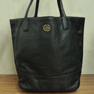 Tory Burch Michelle Black Leather tote bag Shopper